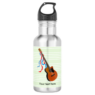 Acoustic Bass Guitar American Music 532 Ml Water Bottle