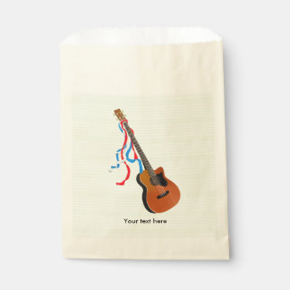 Acoustic Bass Guitar American Music Favour Bag