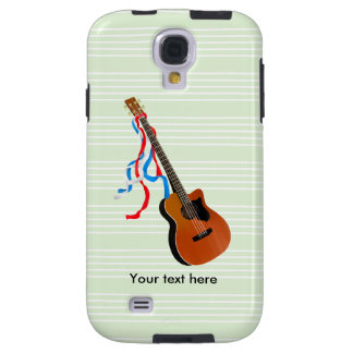 Acoustic Bass Guitar American Music Galaxy S4 Case