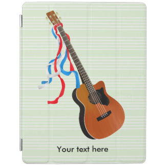 Acoustic Bass Guitar American Music iPad Cover
