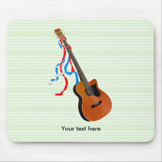 Acoustic Bass Guitar American Music Mouse Pad