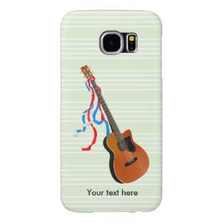 Acoustic Bass Guitar American Music Samsung Galaxy S6 Cases