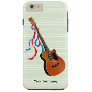 Acoustic Bass Guitar American Music Tough iPhone 6 Plus Case
