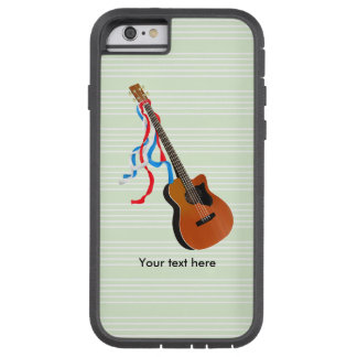 Acoustic Bass Guitar American Music Tough Xtreme iPhone 6 Case
