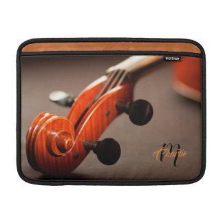 Acoustic Cello Monogram MacBook Air Sleeve