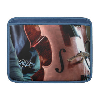 Acoustic Cello Player MacBook Air Sleeve
