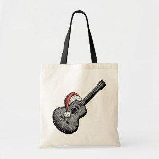 Acoustic Claus Tote Bag