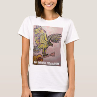 Acoustic Freedom fish hawk T-Shirt