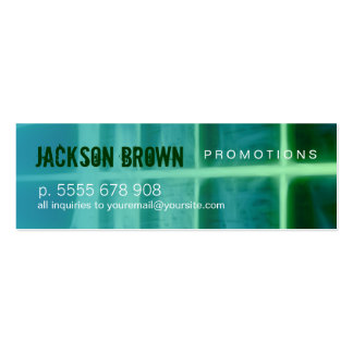 Acoustic Green Small Business card