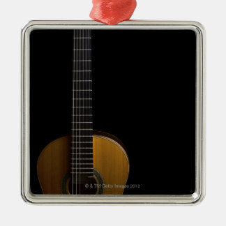 Acoustic Guitar 2 Metal Ornament