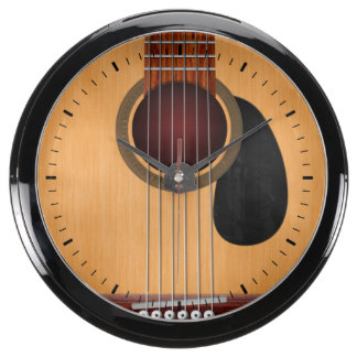 Acoustic Guitar Clocks Acoustic Guitar Wall Clocks