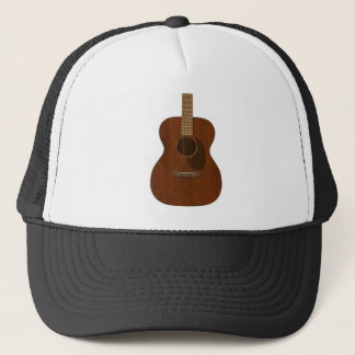 Acoustic Guitar Art Trucker Hat