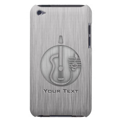 Acoustic Guitar; Brushed metal-look iPod Touch Covers