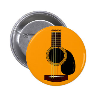 acoustic guitar button