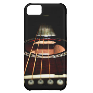 Acoustic Guitar Close-Up iPhone5 Case-Mate Barely iPhone 5C Case