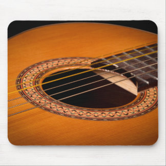 Acoustic Guitar Closeup Mouse Pad