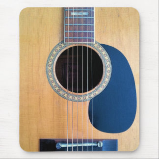 Acoustic Guitar Dreadnought 6 string Mouse Pad