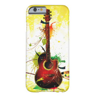 Acoustic Guitar Grunge Barely There iPhone 6 Case