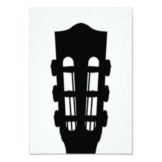 Acoustic Guitar Head RSVP Card
