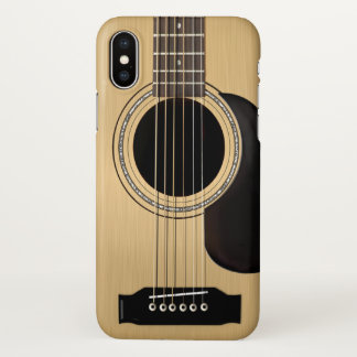 Acoustic Guitar iPhone X Case