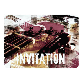 acoustic guitar jazz jam invitation