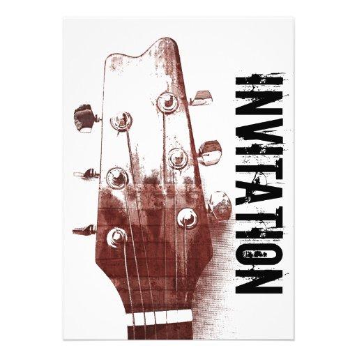 acoustic guitar jazz jam invitation