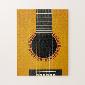 Acoustic Guitar Jigsaw Puzzle