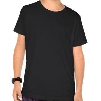 Acoustic Guitar Kids Basic American Apparel Dark T Tshirt