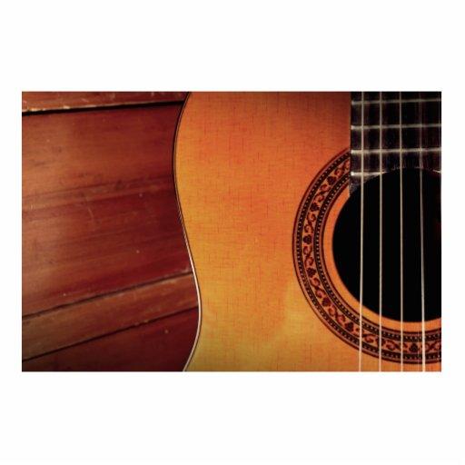 Acoustic Guitar Photo Cutout