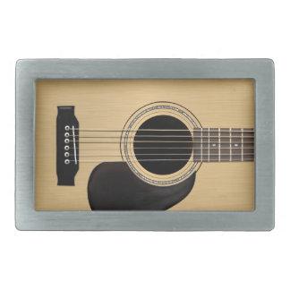 Acoustic Guitar Rectangular Belt Buckle