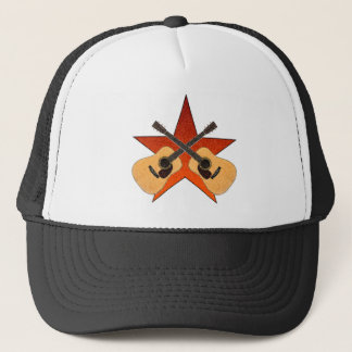 ACOUSTIC GUITAR STAR TRUCKER HAT