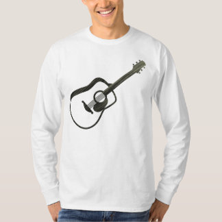 Acoustic Guitar - streaked T-Shirt