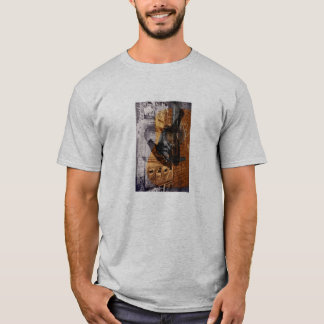 acoustic guitar urban collage T-Shirt