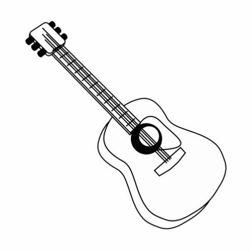 Strat Outline Acoustic...