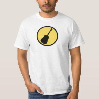 Acoustic guitar yellow black T-Shirt