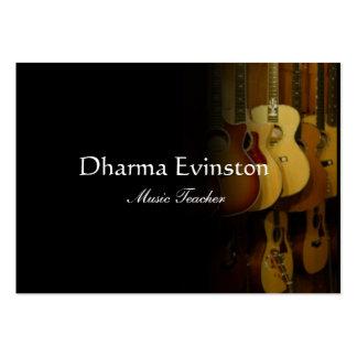 Acoustic Guitars Business Card