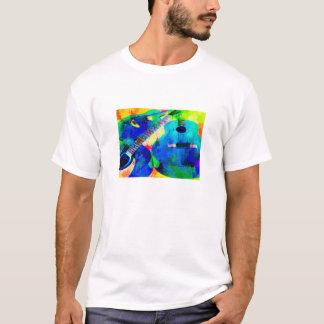 Acoustic Guitars - Watercolor T-Shirt