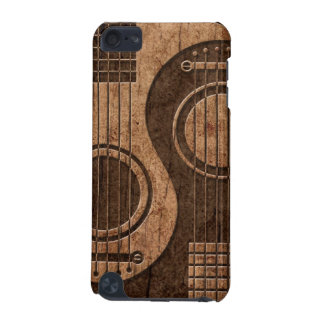 Acoustic Guitars Yin Yang with Wood Grain Effect iPod Touch 5G Covers