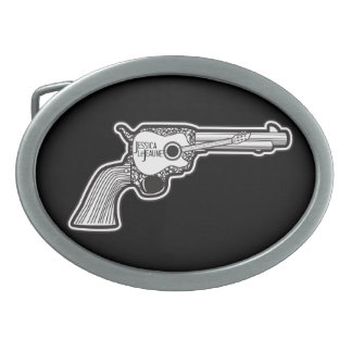 Acoustic Pistol Belt Buckle