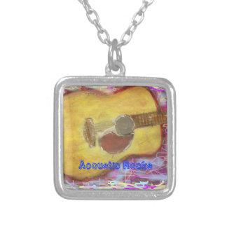 Acoustic Rocks Guitar Pendants