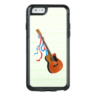 Acoutic Bass Guitar American Music OtterBox iPhone 6/6s Case