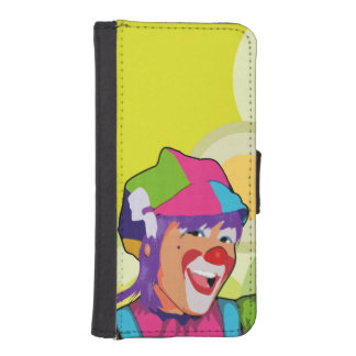 acrobat beautiful iPhone SE/5/5s wallet case