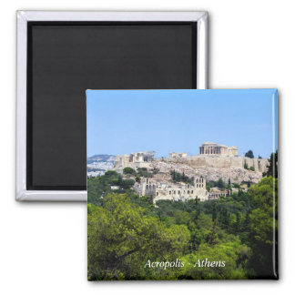 Acropolis – Athens Square Magnet