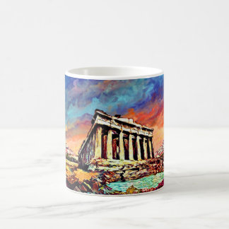 Acropolis of Athens Mug