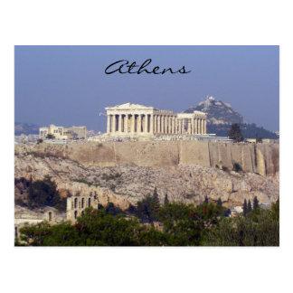 acropolis postcard