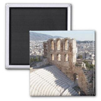 Acropolis Square Magnet