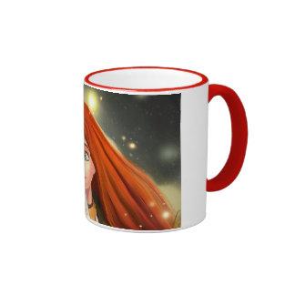 across a dark forest Mug