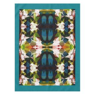 Across The Bridge Geometric Pattern Table Cloth Tablecloth