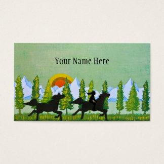 Across the Prairie Business Card