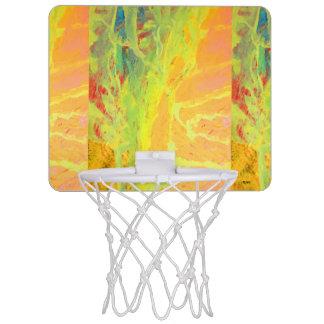 Acrylic#7 Mini Basketball Hoop